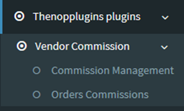 Picture of Vendors Commission Management